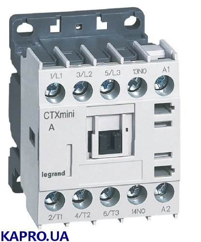 Контактор mini CTX³ 16A 230V Legrand 417076